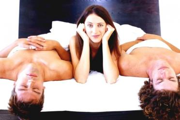trojka sex naprivát
